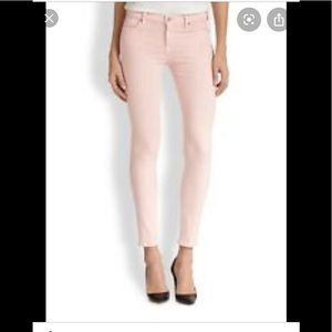 Rich & Skinny Blush Light Pink Jeans